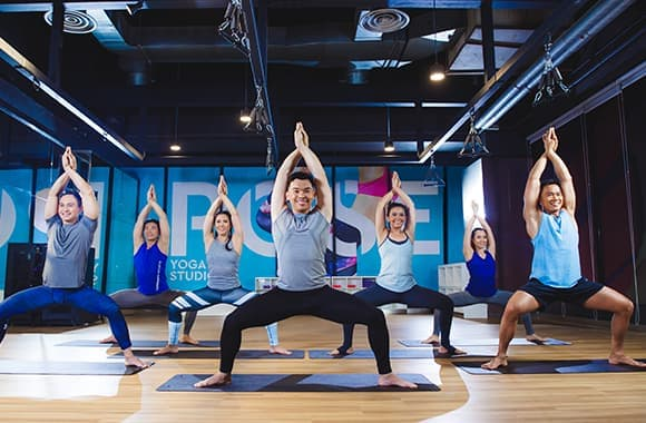 Celebrity Fitness Thailand Advanced Flow Yoga 4
