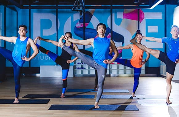 Celebrity Fitness Thailand Hot Yoga Class 12