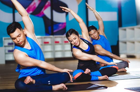 Celebrity Fitness Thailand Hot Yoga Class 5