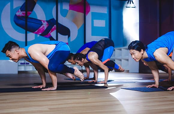 Celebrity Fitness Thailand Hot Yoga Class 6