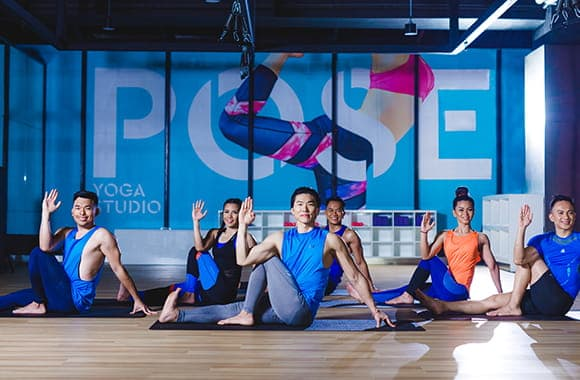 Celebrity Fitness Thailand Hot Yoga Class 7