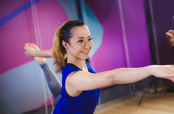 Celebrity Fitness Thailand Pilates Class 1