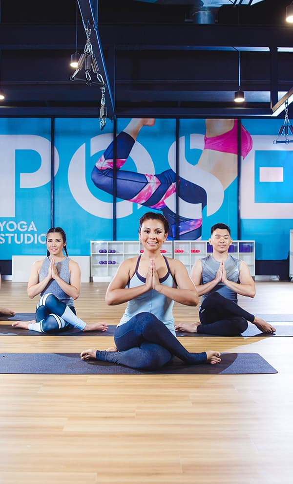Classes related to advance flow yoga class Celebrity Fitness Thailand