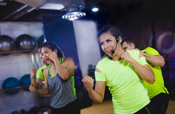Celebrity Fitness Thailand Body Combat Class 3