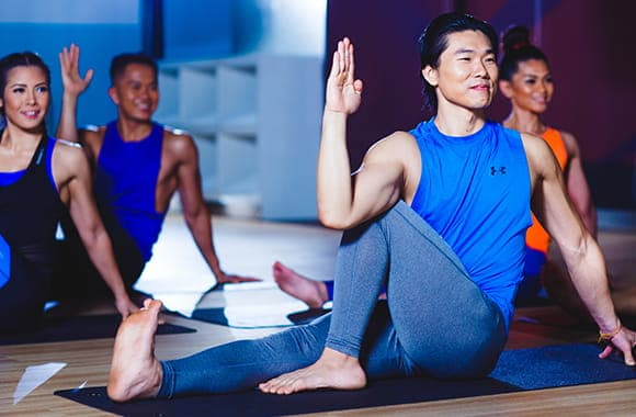 Celebrity Fitness Thailand Hot Yoga Class 3
