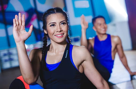 Celebrity Fitness Thailand Hot Yoga Class 9